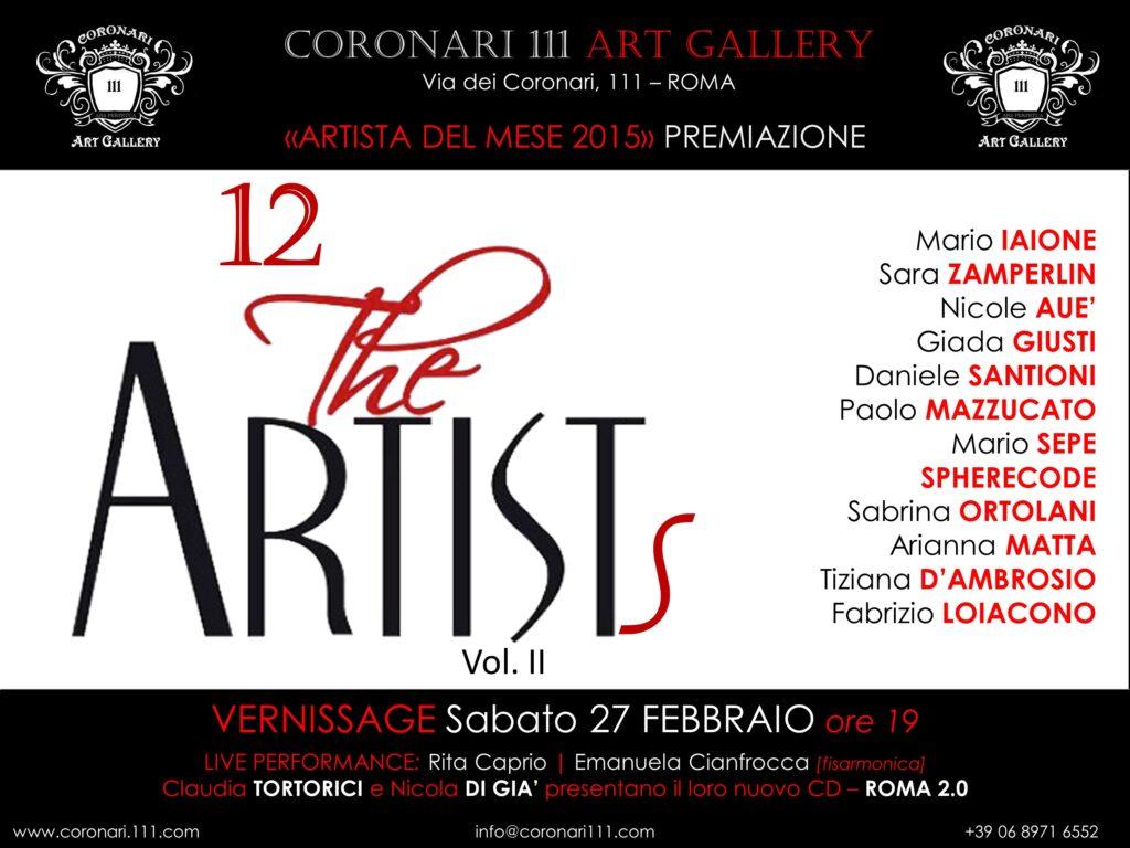 Coronary Art Gallery Roma 2015